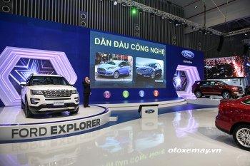 VMS 2017: Ford nổi bật với dàn xe nhiều công nghệ thông minh