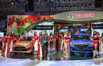 Cận cảnh 02 mẫu xe mới Toyota Wigo và Avanza tại VMS 2017