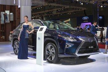 Lexus RX450h nổi bật với công nghệ Lexus Hybrid Drive