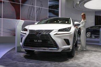 Cận cảnh phiên bản nâng cấp của dòng Lexus NX 2018