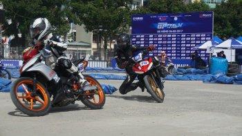 Đua xe Yamaha GP khốc liệt tại Đà Nẵng