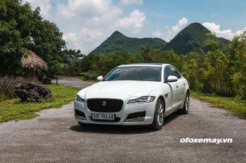 Jaguar XF hoàn toàn mới: cảm giác phấn khích sau mỗi nhịp ga