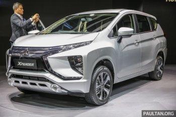Cận cảnh mẫu MPV nhỏ Xpander hoàn toàn mới của Mitsubishi