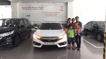 Khách mua xe Honda, bốc thăm trúng thêm Accord