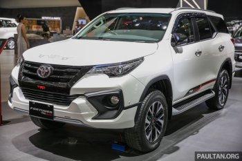 Toyota Fortuner TRD Sportivo trình làng tại Indonesia