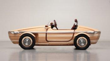 Tương lai xe Toyota có thể làm từ gỗ