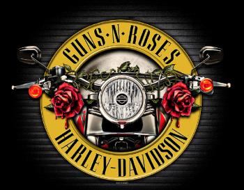 Harley-Davidson hợp tác với ban nhạc rock nổi tiếng Guns N' Roses