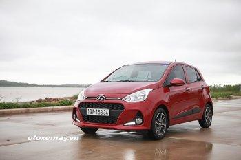 Hyundai Grand i10 2017 chỉ ngốn 3,78 lít xăng cho 100km