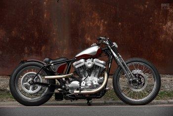 Harley Sportster độ Bobber cực ảo của 2LOUD Custom