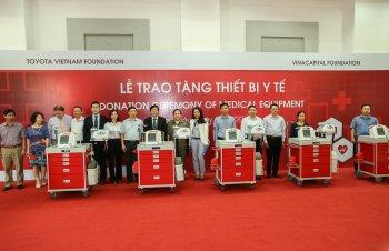Toyota hỗ trợ 8 xe cứu thương cho tỉnh Lai Châu