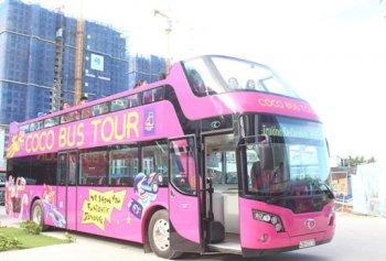 Đà Nẵng bán vé 250 nghìn đi xe buýt 2 tầng