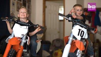 Biker 4 tuổi định trước sẽ là siêu sao motocross