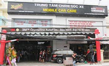 Thêm một cửa hàng chăm sóc xe đa năng tại Sài Gòn