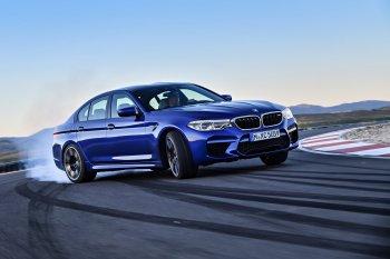 BMW trình làng sedan hiệu suất cao M5 2018