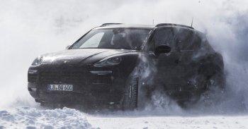 Porsche tung video chạy thử Cayenne thế hệ mới