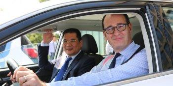"""Ford """"tham vọng"""" lập thương hiệu xe điện mới tại Trung Quốc"""