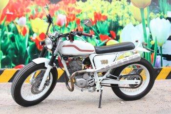 Honda CB125 độ Scrambler của thợ Sài Gòn