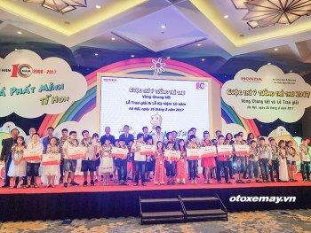 Honda Việt Nam đánh dấu 10 năm Cuộc thi Ý tưởng trẻ thơ