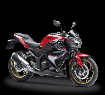 "Nakedbike Kawasaki Z250 ABS 2017 màu mới giá ""hot"" 102 triệu"