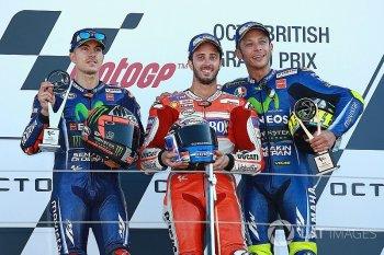 Thi đấu đầy quả cảm, Andrea Dovizioso thắng thuyết phục tại Silverstone