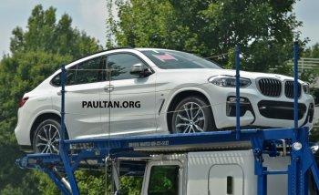 BMW X4 2018 xuất hiện không che chắn