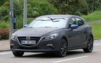 Mazda thử nghiệm động cơ Skyactiv-X trên Mazda3