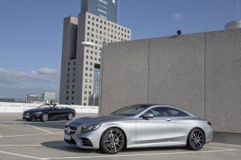 Mercedes-Benz giới thiệu phiên bản nâng cấp S-Class Coupe và Cabriolet