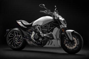 """Ducati XDiavel S 2018 thêm ngầu với màu trắng """"băng giá"""""""