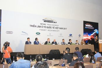12 hãng xe tham gia Triển lãm ô tô quốc tế Việt Nam 2017