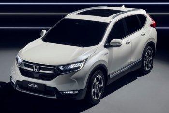 Honda CR-V Hybrid sẵn sàng ra mắt châu Âu