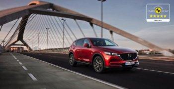 Mazda CX-5 2017 đạt chuẩn an toàn tuyệt đối