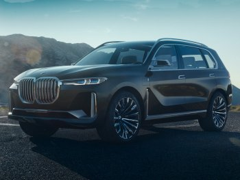 BMW gây tò mò với concept X7 hoàn toàn mới