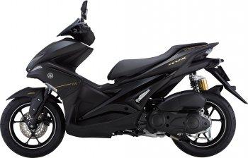 Yamaha NVX: Phuộc mới, màu mới và cả chắn bùn