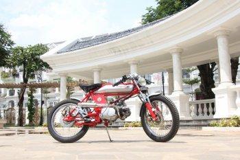 Thợ Sài Gòn độ Honda Win 100 Cafe Racer độc nhất vô nhị