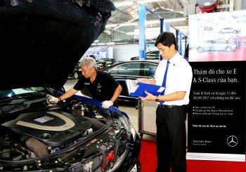Mercedes-Benz Việt Nam kiểm tra miễn phí cho xe E-Class và S-Class
