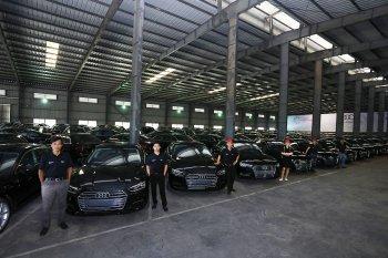 Audi tiếp tục giao xe phiên bản giới hạn phục vụ APEC tại Đà Nẵng