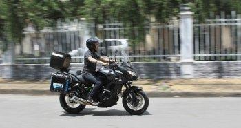 Kawasaki Versys 650 - môtô giá hời cho mùa phượt cuối năm