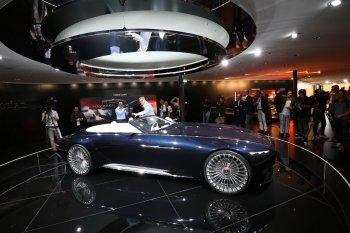 "Frankfurt MotorShow 2017: ""Người đẹp 6m"" Vision Mercedes-Maybach 6 Cabriolet"
