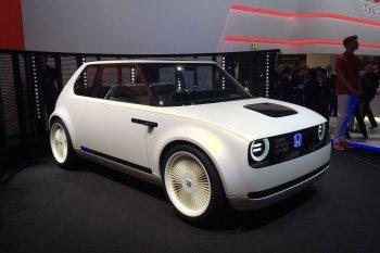"""Frankfurt Motor Show 2017: Honda """"trình làng"""" Urban EV Concept"""