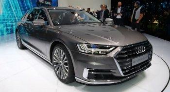 Audi A8 2018 lần đầu xuất hiện trước công chúng