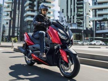 Yamaha X-Max 125cc 2018 có hệ thống kiểm soát độ bám đường