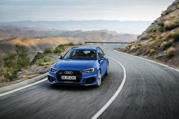 Audi RS4 Avant thế hệ mới bất ngờ với công suất khủng