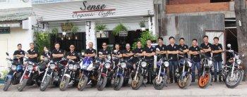 SUPER FOUR Saigon CLUB - rực lửa đam mê Honda CB400