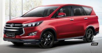 Toyota trình làng phiên bản Innova 2.0X tại Malaysia