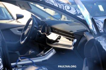 Lộ ảnh nội thất Audi Q8 hoàn toàn mới