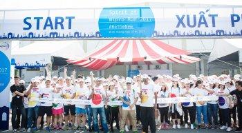 Hơn 1.100 người tham gia Chạy Việt Dã vì cộng đồng