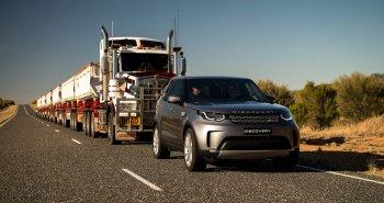 Land Rover Discovery 2017 trình diễn khả năng kéo không tưởng