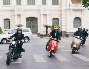 DGR2017: Quý ông Sài Thành làm duyên cùng mô tô ra phố