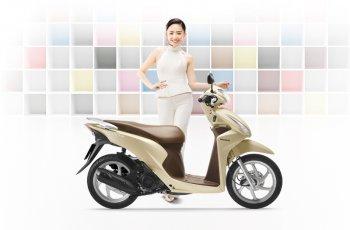 Honda Vision thêm màu sắc, giá từ 30 triệu đồng
