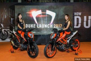 KTM trình làng Duke 250 và 390 phiên bản 2017